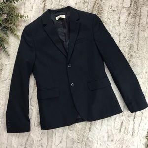 [H&M] Navy Blue Suit Jacket Size 9-10Y